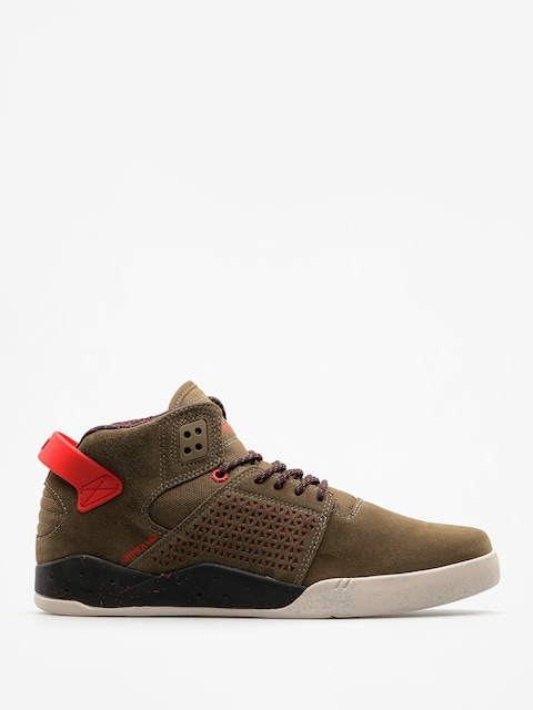 Buty Supra Skytop III (olive/risk red)