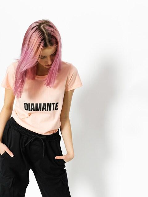 T-shirt Diamante Wear Best Friend Worst Enemy Wmn