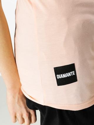 T-shirt Diamante Wear Best Friend Worst Enemy Wmn (salmon)
