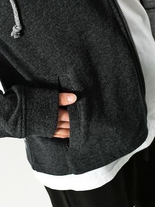 Bluza z kapturem Roxy Endles Barrela ZHD Wmn (black heather)