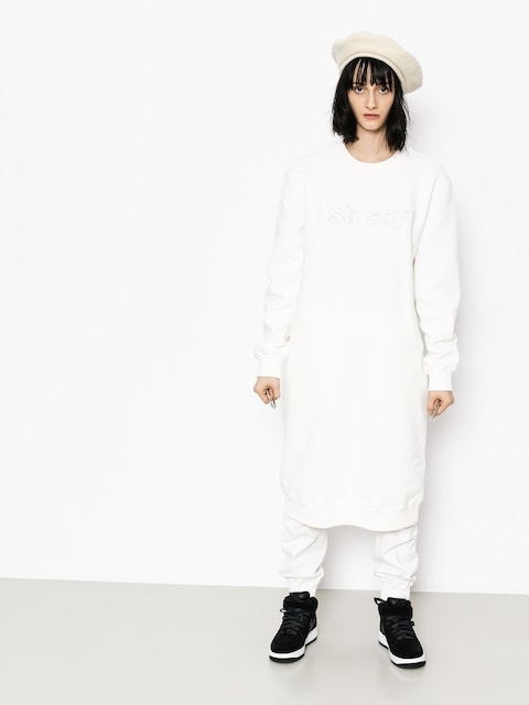 Sukienka Stussy Archers Fleece Wmn (off white)