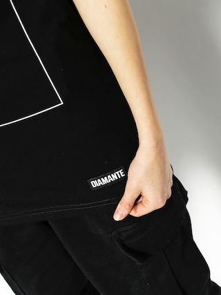 T-shirt Diamante Wear My Brain Wmn (black)
