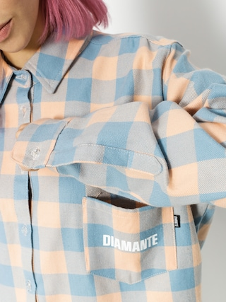 Koszula Diamante Wear Flamingo Wmn (blue/peach)