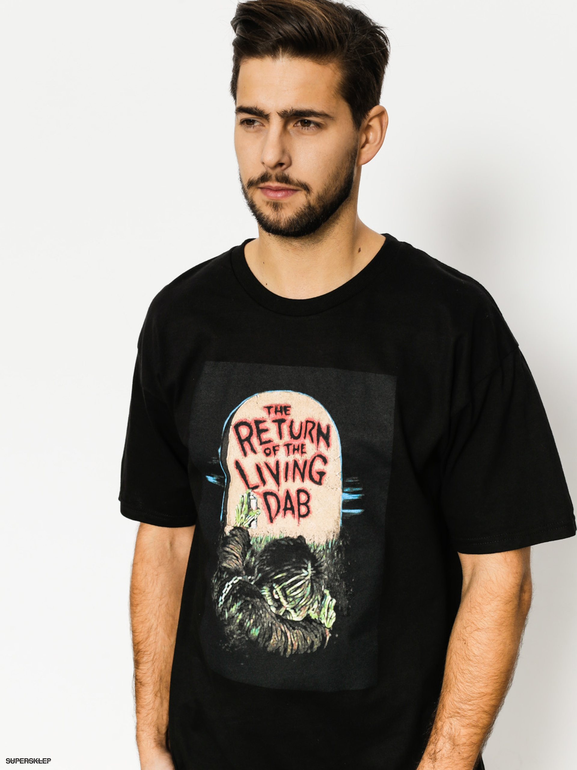 T-shirt Skate Mental Return Of The Living Dab (black)