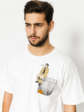 T-shirt Skate Mental Upper Decker Pocket (white)