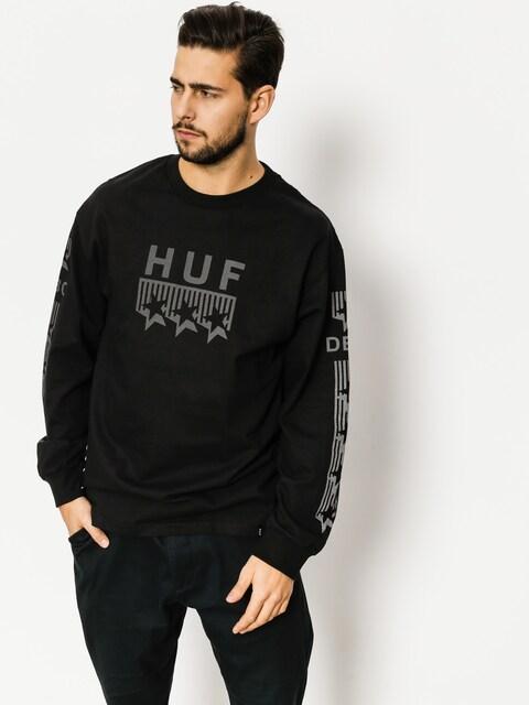 Longsleeve HUF Blackout Classic (black)