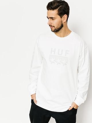 Longsleeve HUF Blackout Classic (white)