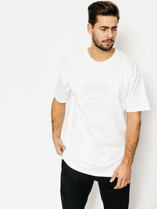 T-shirt HUF Blackout Check Box (white)