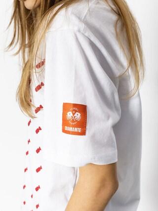 T-shirt Diamante Wear Flag 02 (white)