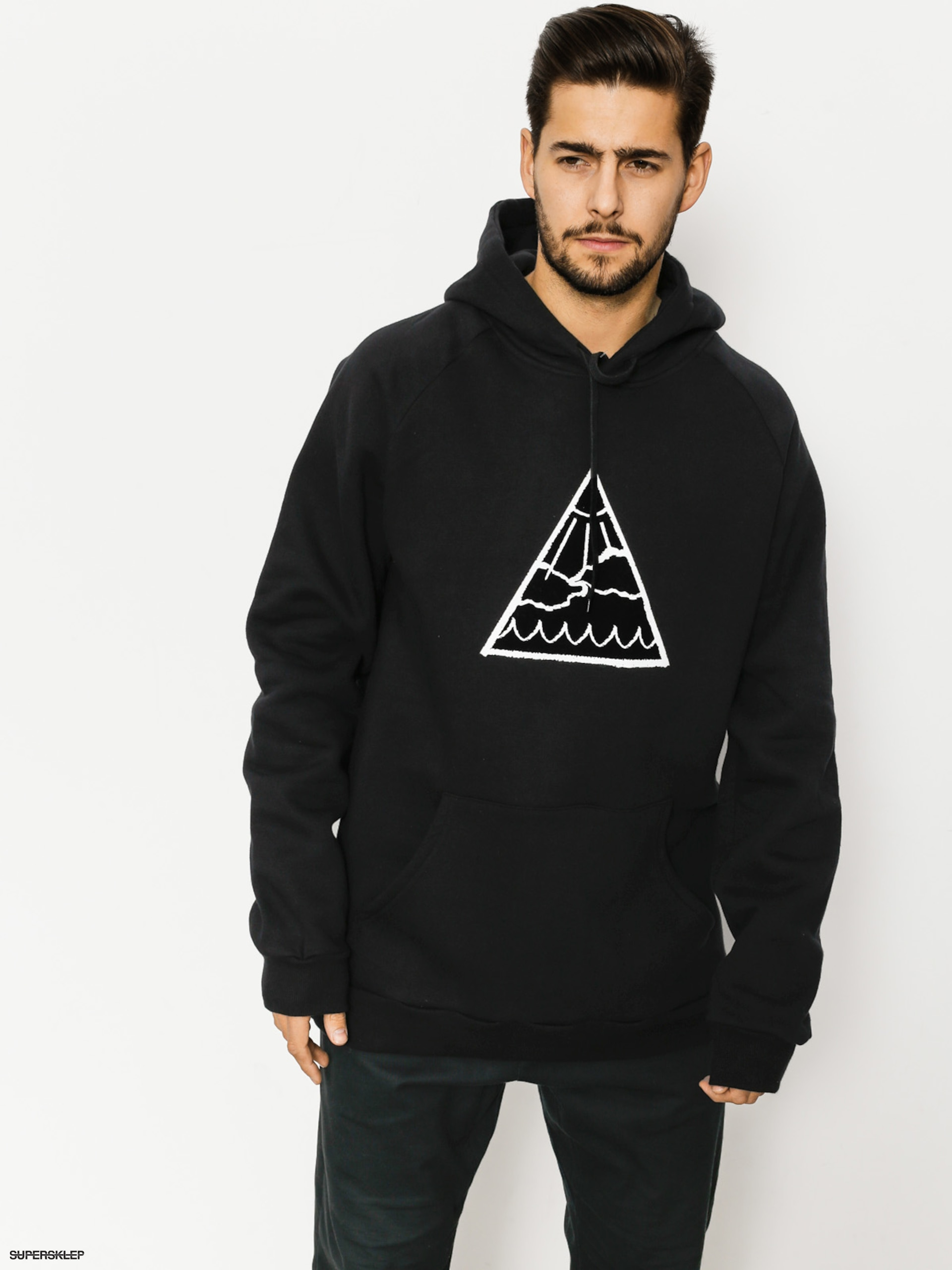Bluza z kapturem Youth Skateboards Triangle Logo HD
