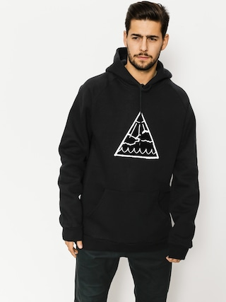 Bluza z kapturem Youth Skateboards Triangle Logo HD (black)