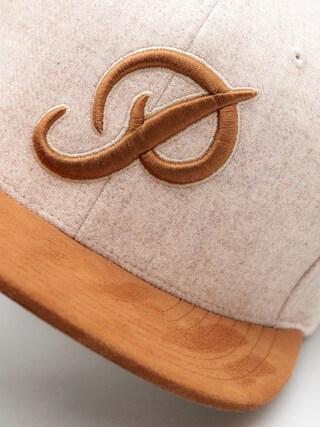 Czapka z daszkiem Primitive Classic Snap ZD (brown)