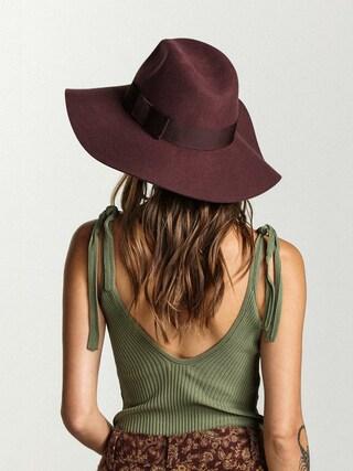 Kapelusz Brixton Piper Hat Wmn (maroon)