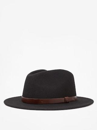 Kapelusz Brixton Messer Fedora (black)