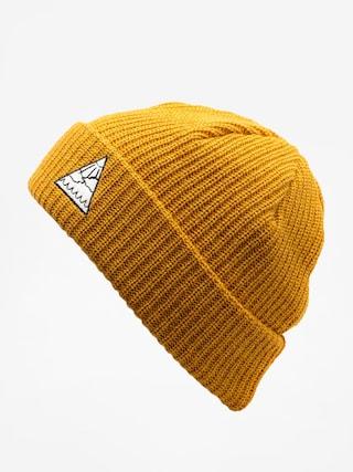 Czapka zimowa Youth Skateboards Triangle Logo (mustard)