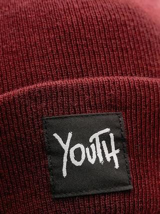 Czapka zimowa Youth Skateboards Og Logo Plain (burgundy)
