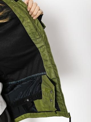 Kurtka snowboardowa Westbeach Crush Jacket Wmn (combat green fairisle)