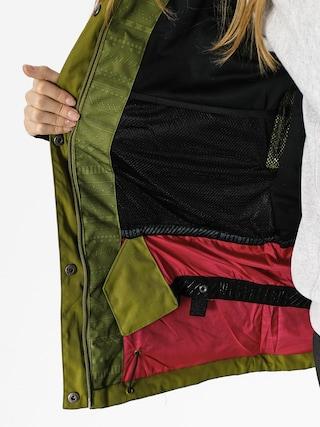 Kurtka snowboardowa Westbeach Waltz Jacket Wmn (combat green fairisle)