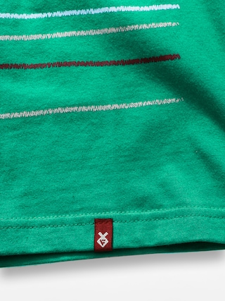 T-shirt Fenix Basic Stripe (green)