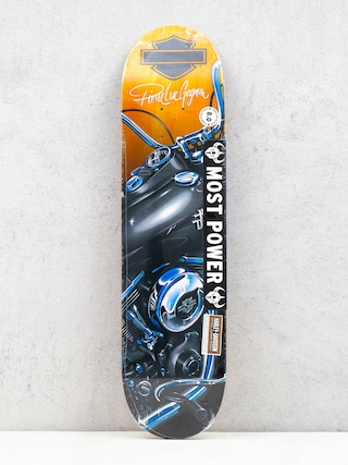 Deck Darkstar X Harley Davidson Dyna R7 (black/orange/blue)
