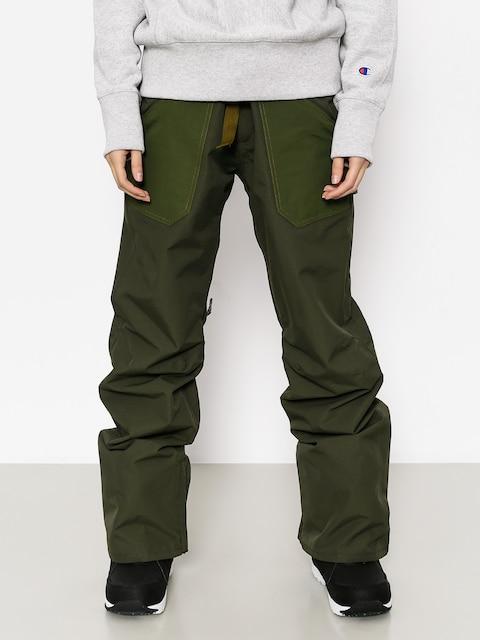 Spodnie snowboardowe Burton Veazie Wmn (frstnt/rflgrn)
