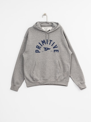 Bluza z kapturem Primitive Big Arch Pennant HD (grey heather)