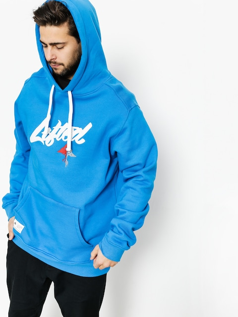 Bluza z kapturem LRG Lifted Scrpt HD (blue)