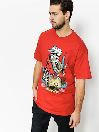 T-shirt LRG Skull Kracker (red)