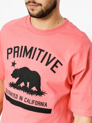 T-shirt Primitive Cultivated Solid (coral)
