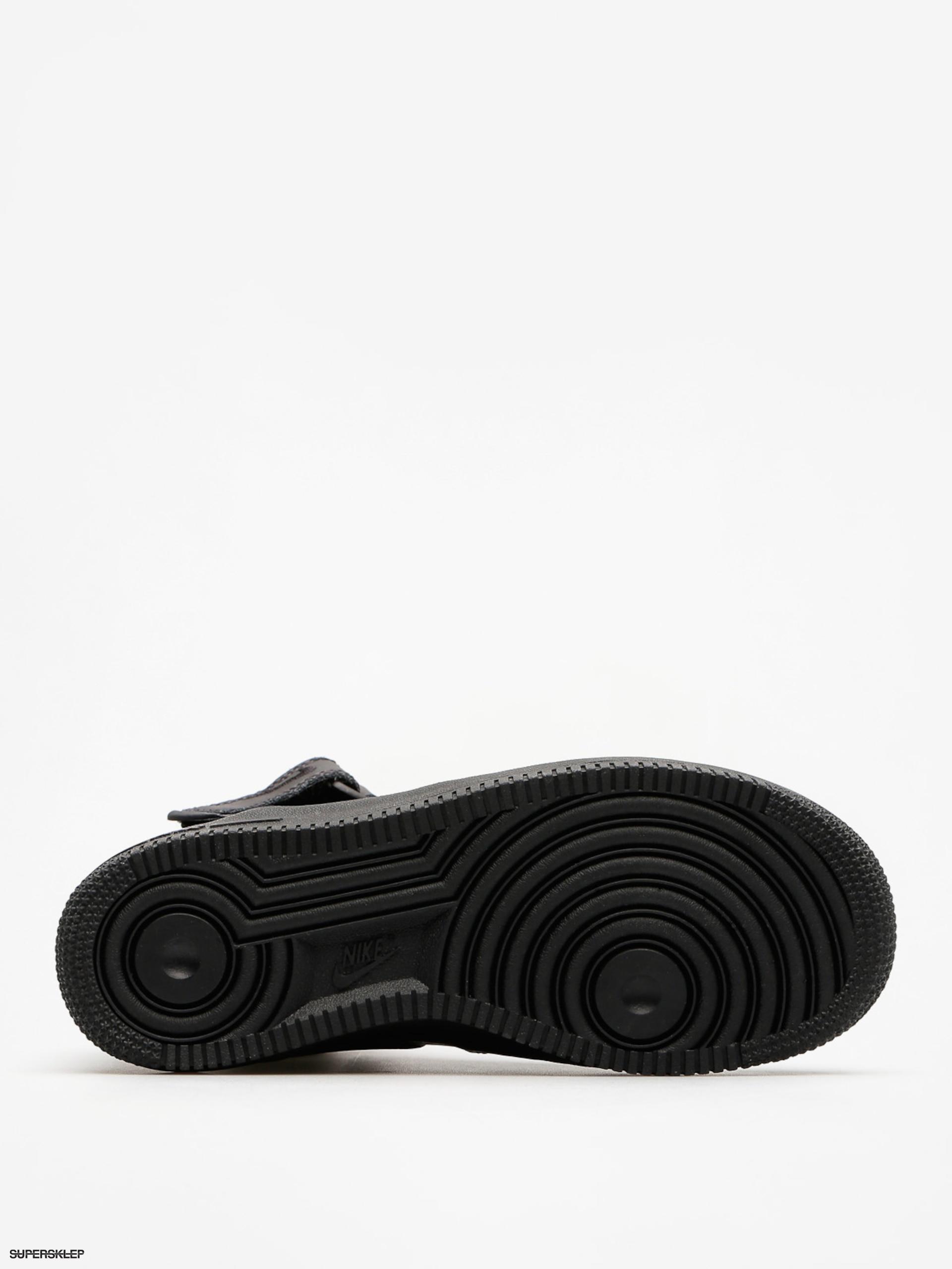 Buty Nike Air Force 1 Mid Gs Basketball (blackblack)