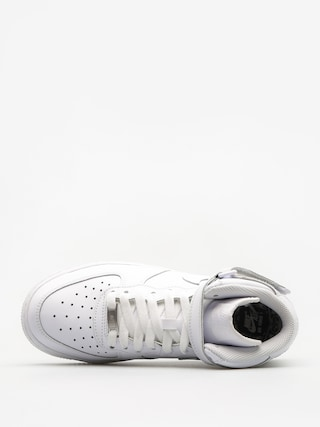 Buty Nike Air Force 1 Mid Gs Basketball (white/white)