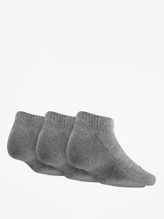Skarpetki Nike SB No Show 3pk (dk grey heather/black)