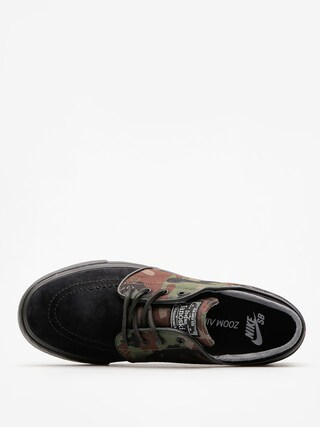 Buty Nike SB Air Zoom Stefan Janoski Og (black/black medium olive white)
