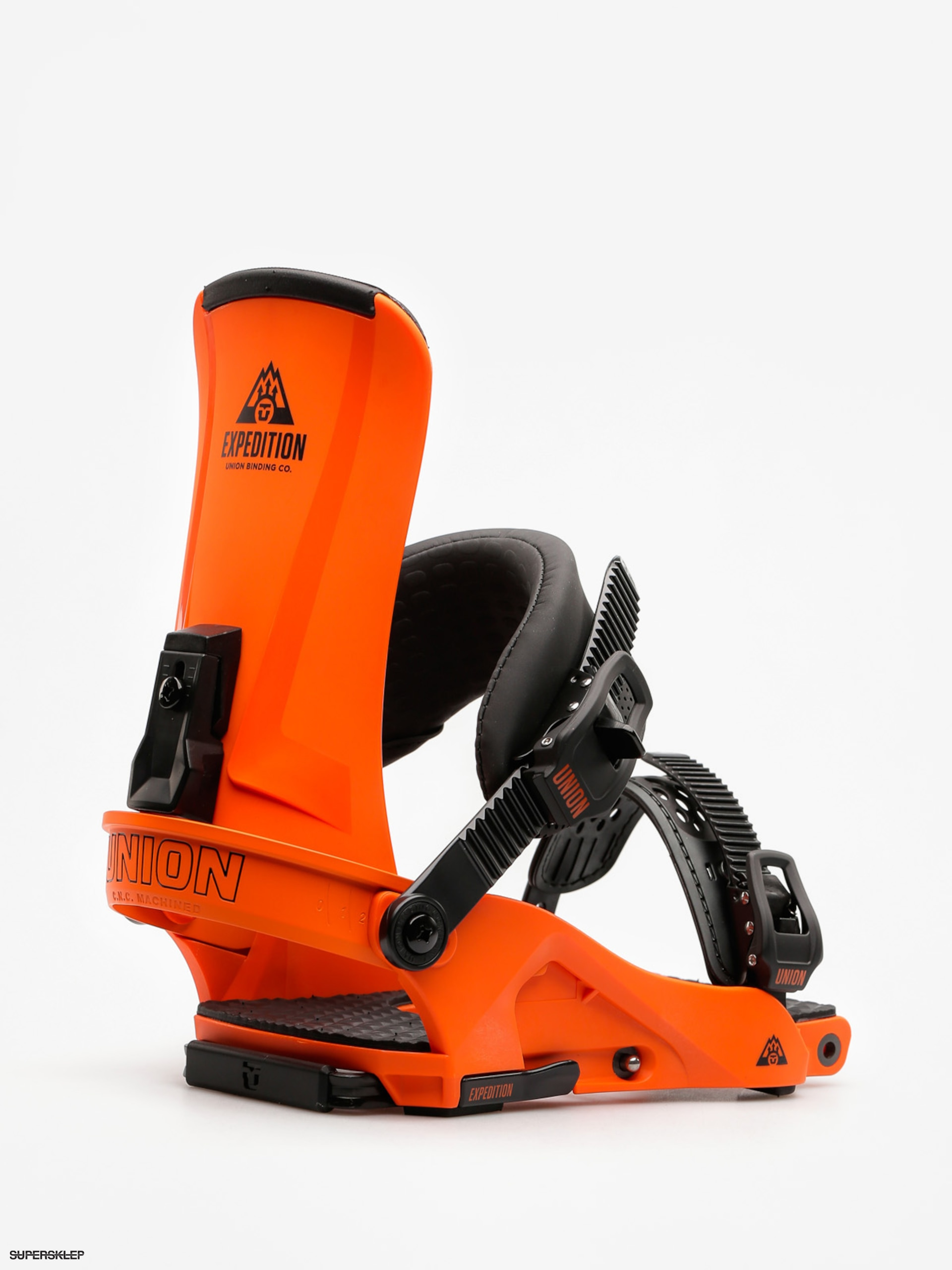 Wiązania snowboardowe Union Expedition (orange)