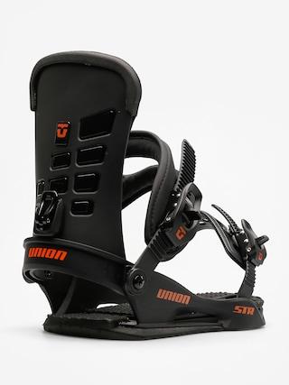 Wiązania snowboardowe Union Str (black)