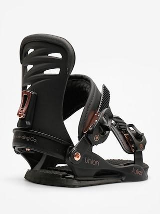 Wiązania snowboardowe Union Juliet Wmn (black)