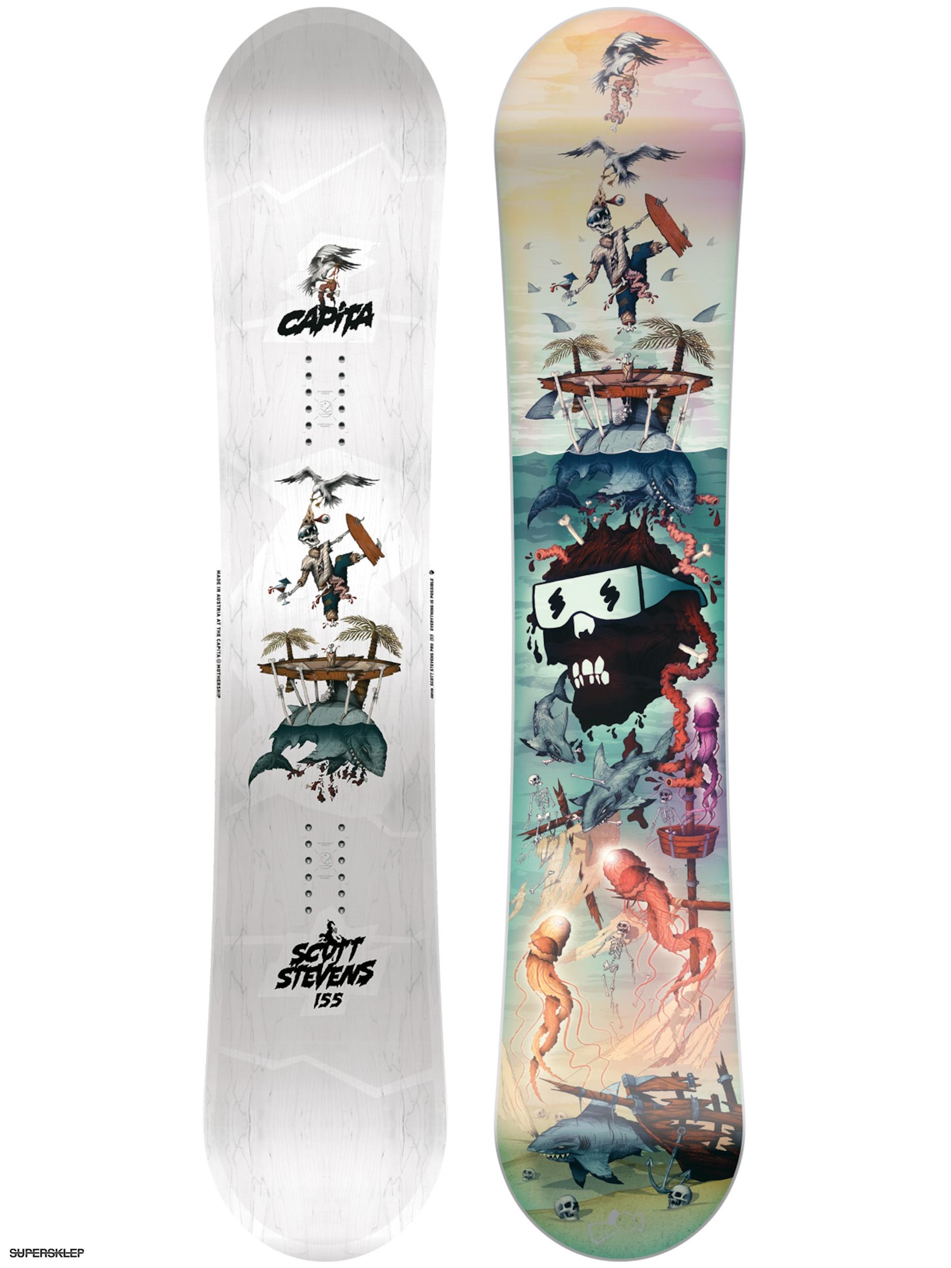 Deska snowboardowa Capita Scott Stevens Pro (multi) e30240e5b9