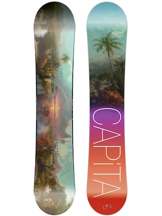 Deska snowboardowa Capita Paradise Wmn (teal/black/purple/red)