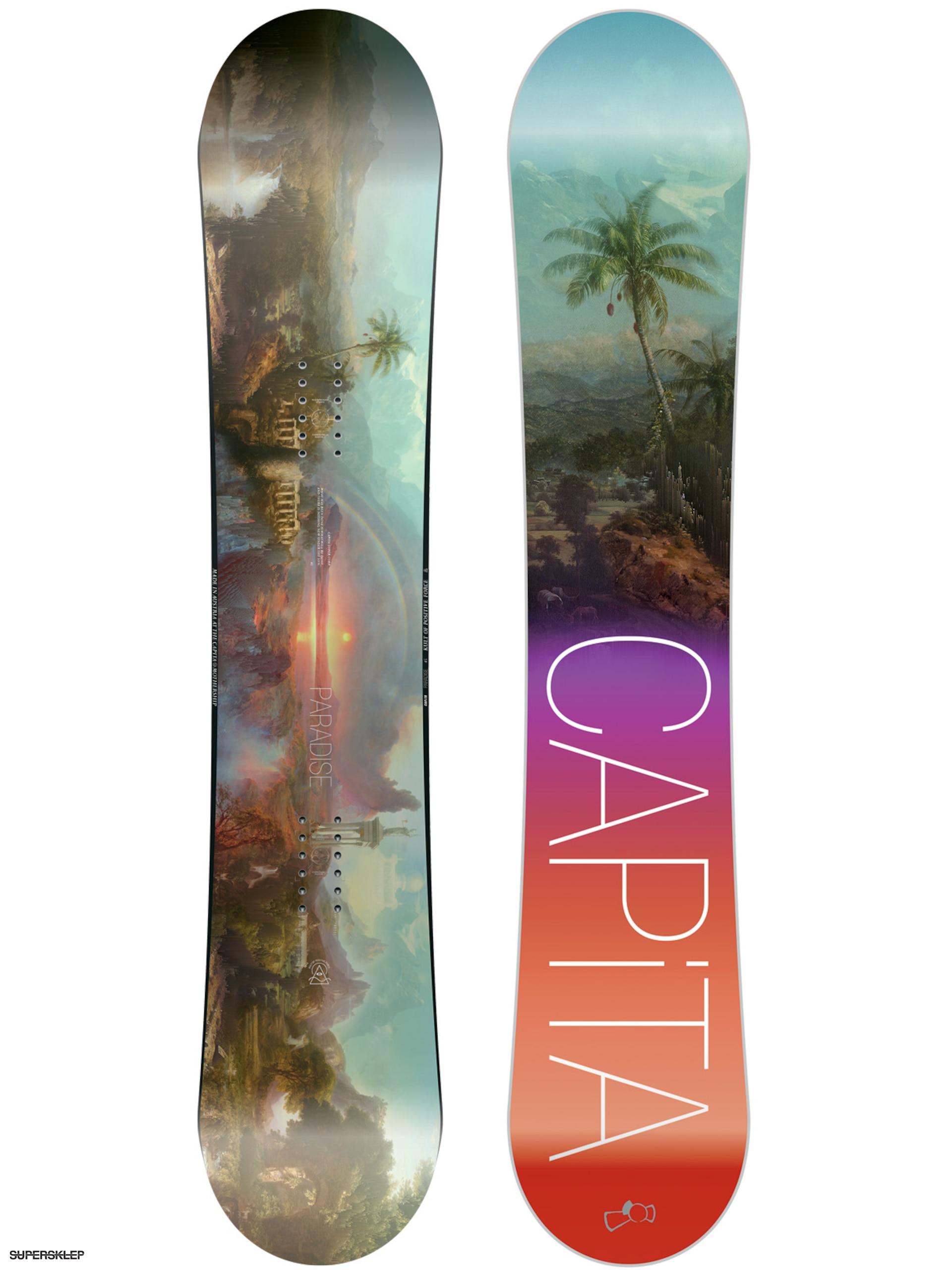 Deska snowboardowa Capita Paradise Wmn (teal black purple red) 5ba601601f