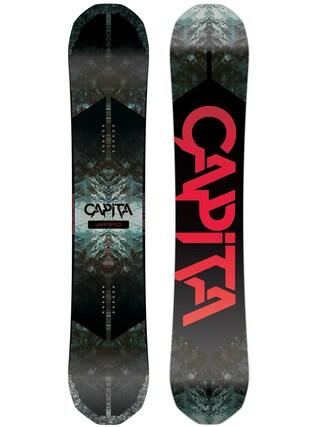 Deska snowboardowa Capita Warpspeed (white/black/red)
