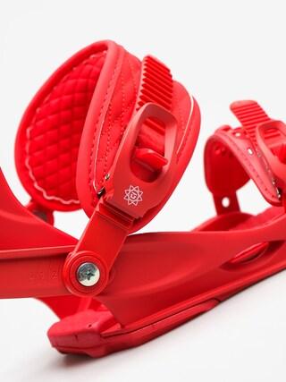Wiązania snowboardowe Union Rosa Wmn (red)