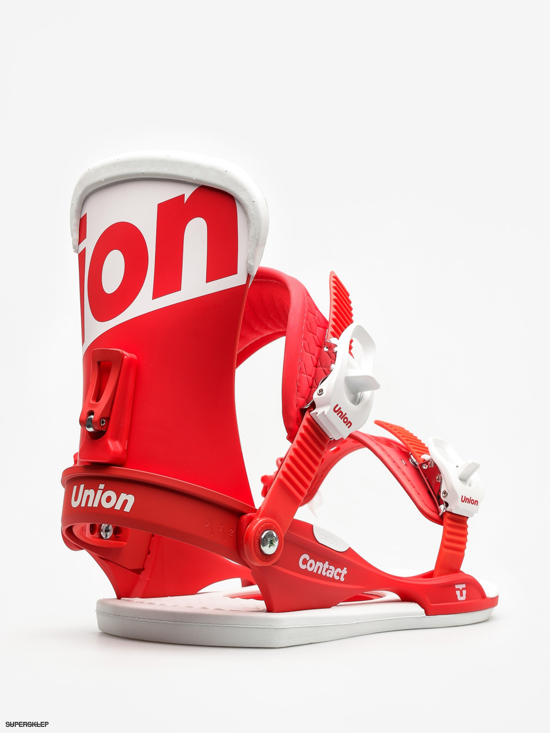 Wiązania snowboardowe Union Contact (red)
