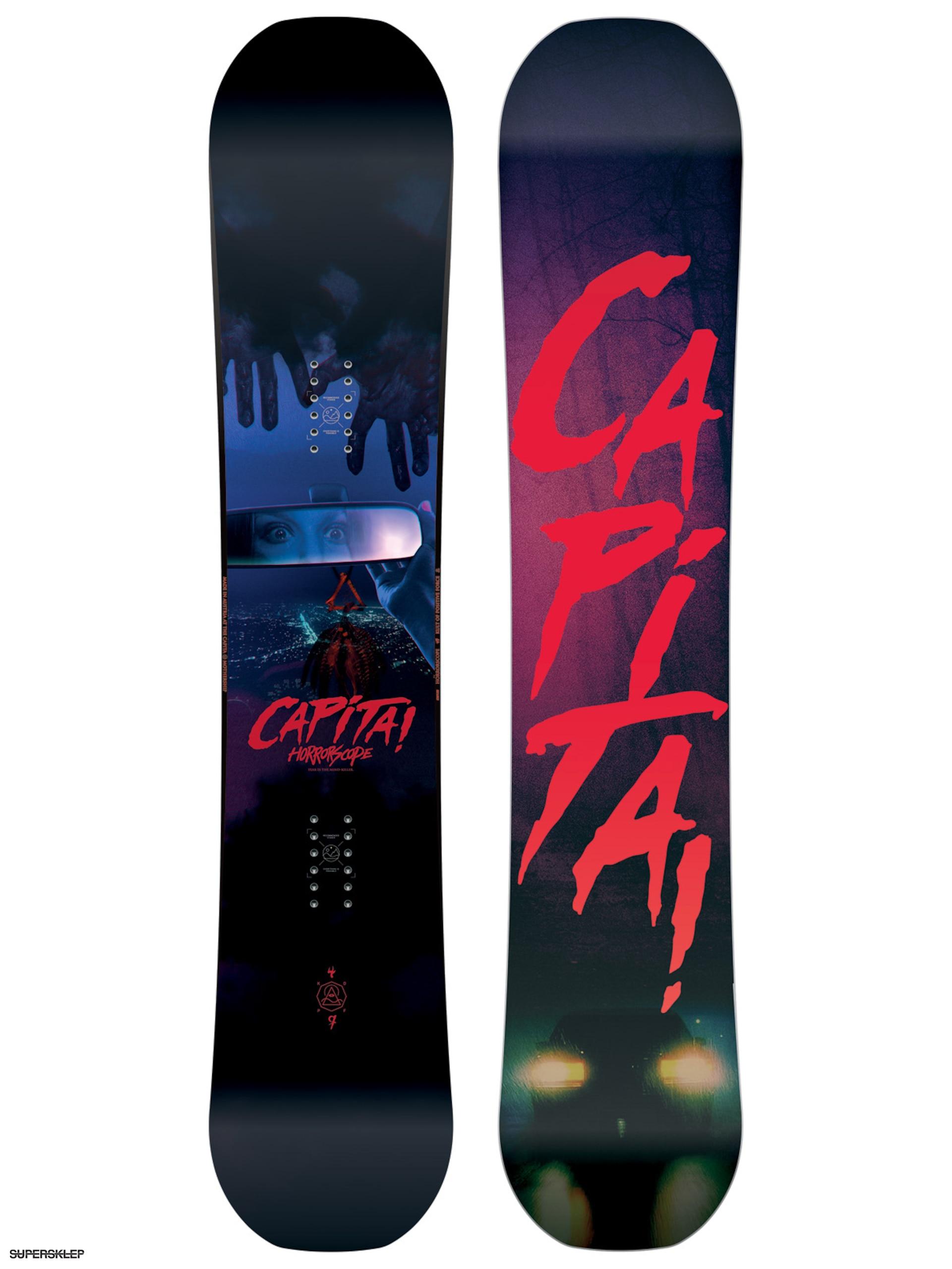 Deska snowboardowa Capita Horrorscope 149 (red black) 77db07c5ae