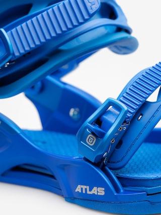 Wiązania snowboardowe Union Atlas (metallic blue)