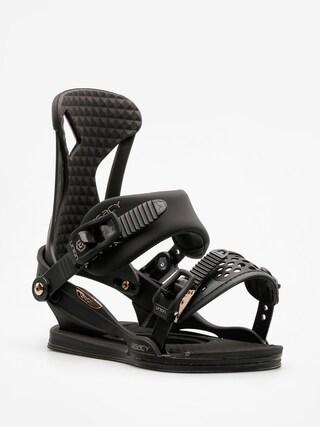Wiązania snowboardowe Union Legacy Wmn (satin black)