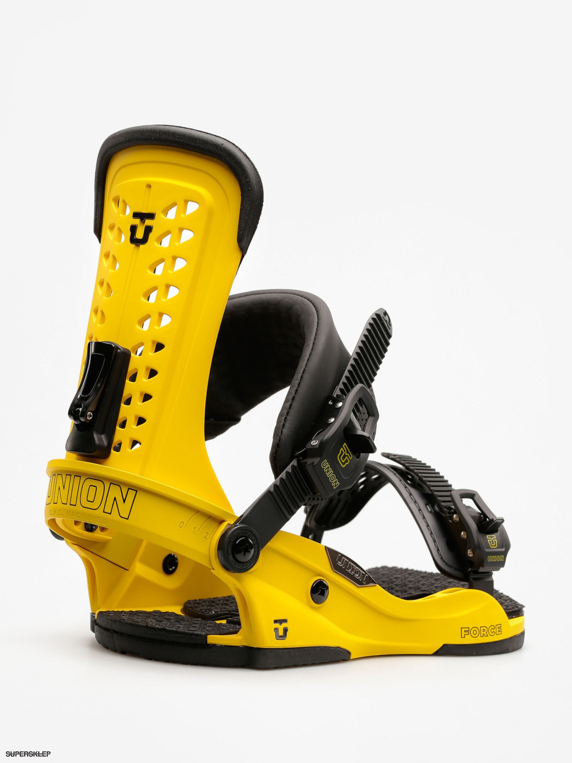 Wiązania snowboardowe Union Force (yellow)