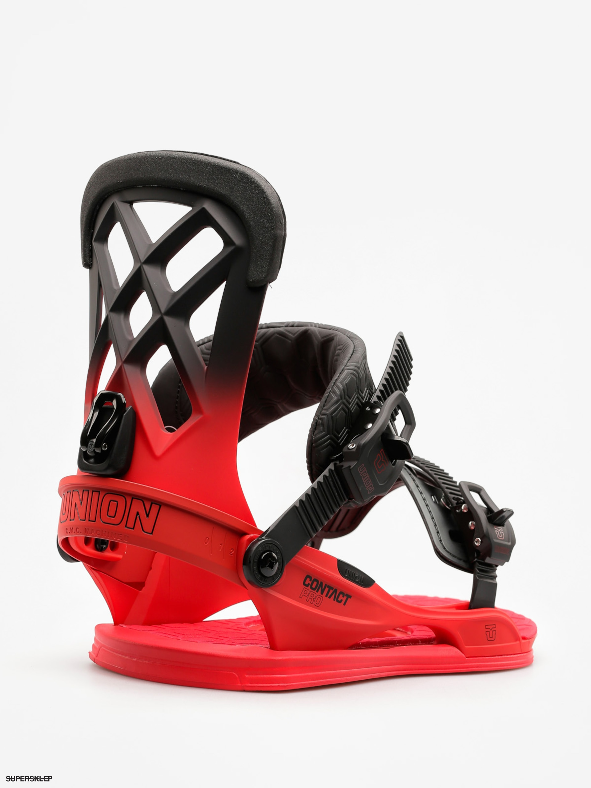 Wiązania snowboardowe Union Contact Pro (volt red)