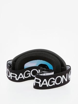 Gogle Dragon Lil D (black/lumalens red ion)