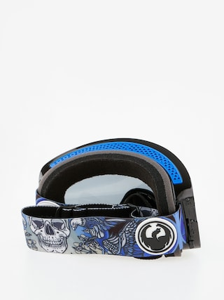 Gogle Dragon NFX2 (schoph/dark smoke/l blue)