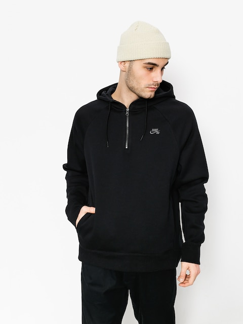 Bluza z kapturem Nike SB Hoodie Icon Hz HD (black/dark grey)